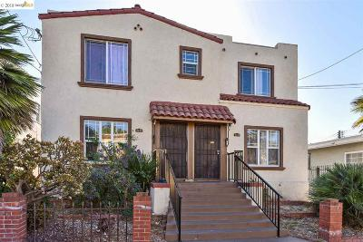 Oakland Multi Family Home For Sale: 2410 Seminary Ave