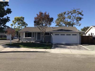 Pleasanton Single Family Home Back On Market: 4406 Downing Ct