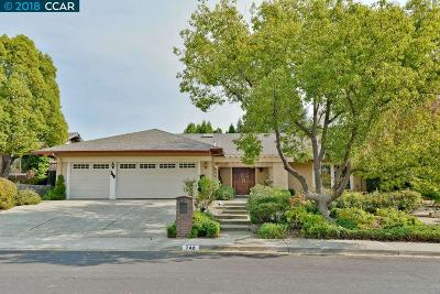 Walnut Creek Single Family Home Pending Show For Backups: 740 Sutton Dr