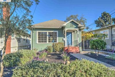Alameda Single Family Home For Sale: 1816 Wood St
