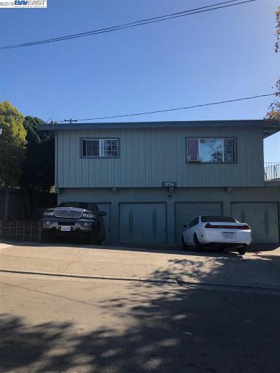 San Leandro Multi Family Home Pending Show For Backups: 1734 163rdave