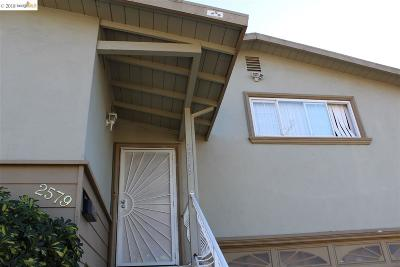 Hayward Single Family Home For Sale: 2579 Jacobs