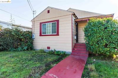 Oakland Single Family Home New: 1968 82nd Ave