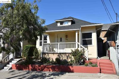 Oakland Single Family Home New: 608 58th St
