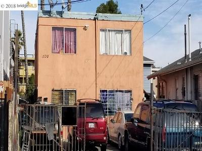 Oakland Multi Family Home New-Reo: 1130 E 17th St