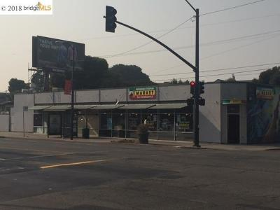 Oakland Commercial For Sale: 5825 Telegraph Av