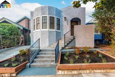 Albany, Berkeley, El Cerrito, El Sobrante, Hercules, Kensington, Pinole, Richmond, Rodeo, San Pablo Single Family Home New: 1607 Channing Way