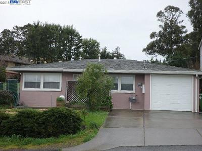 Castro Valley Single Family Home For Sale: 18989 Carlton Ave