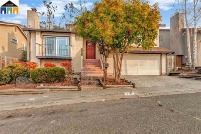 Vallejo Single Family Home For Sale: 116 Hickory St