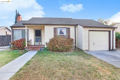 Concord Single Family Home Price Change: 2424 Acacia Dr