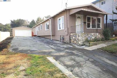 Hayward CA Single Family Home New: $725,000