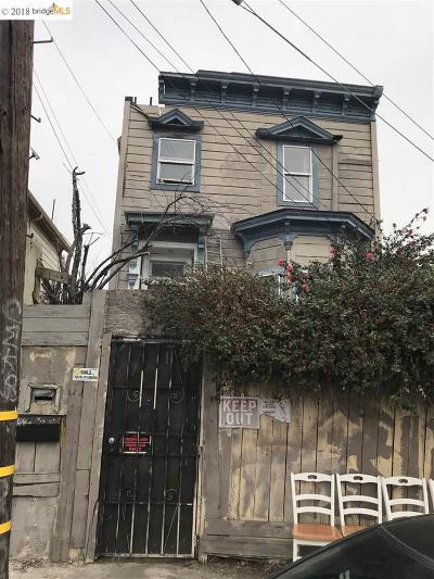 Oakland Single Family Home New: 1130 E 11th Street