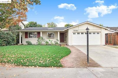 San Jose Single Family Home New: 1081 Monica Ln