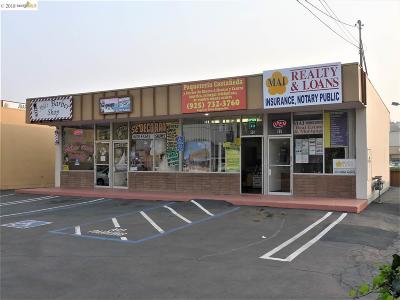 Antioch Commercial For Sale: 17 W 18th St