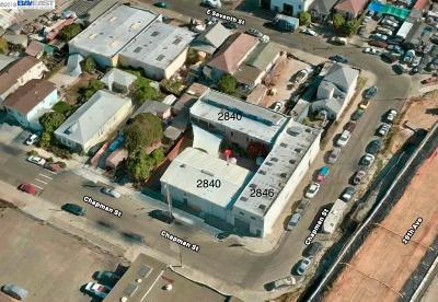 Oakland Commercial For Sale: 2840 Chapman St