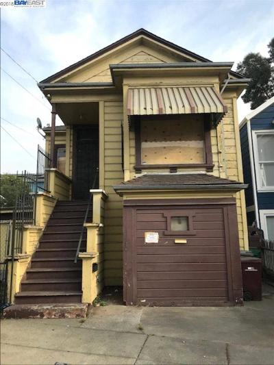 Oakland Single Family Home For Sale: 344 Peralta St