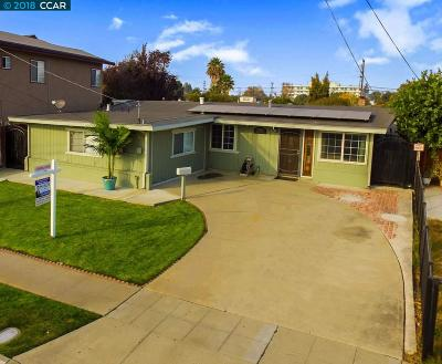 Hayward CA Single Family Home For Sale: $724,500