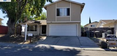 Tracy Single Family Home Pending Show For Backups: 466 Graham Ct.