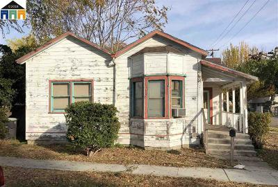 Tracy Single Family Home For Sale: 55 W 7th St