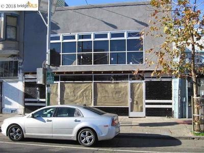 Commercial For Sale: 2357 San Pablo Avenue