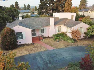 Castro Valley Single Family Home For Sale: 3778 Lorena Ave