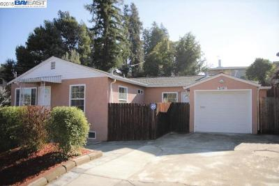 Castro Valley Single Family Home For Sale: 3141 Keith Ave