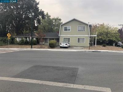 Walnut Creek Single Family Home For Sale: 2099 Geary Rd