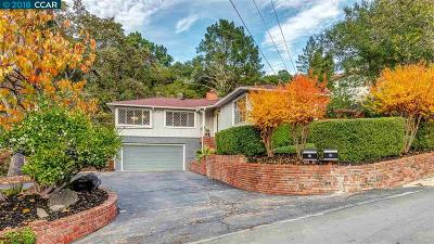 Orinda Single Family Home For Sale: 19 Moraga Via
