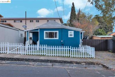 Oakland Single Family Home For Sale: 4410 San Carlos Ave