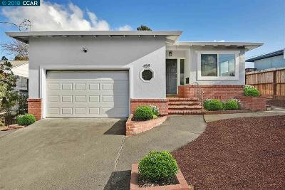 Rodeo Single Family Home For Sale: 459 Sonoma