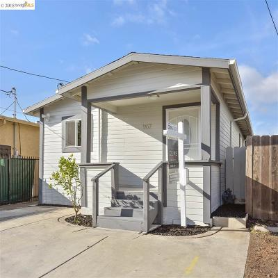 Oakland Single Family Home Pending Show For Backups: 967 72nd Ave