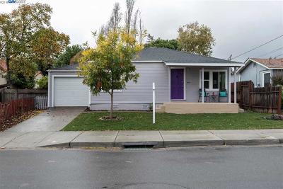 Hayward Single Family Home For Sale: 744 Hampton Road