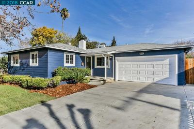 Concord Single Family Home Pending Show For Backups: 1762 Landana Dr