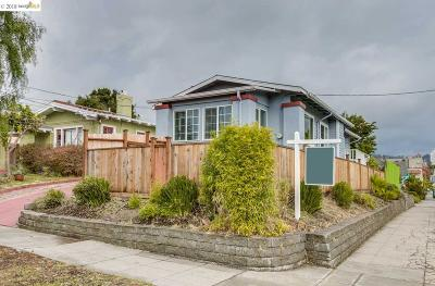 Oakland Single Family Home For Sale: 1256 E 33rd St