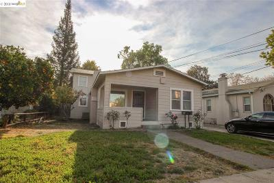 Concord Single Family Home Price Change: 2506 Bonifacio St