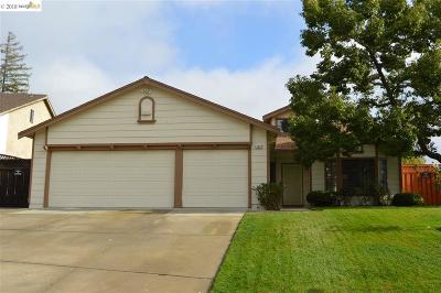 Antioch Single Family Home Price Change: 2921 Bellflower Drive