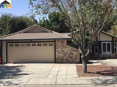 Tracy Single Family Home For Sale: 3491 Crowley