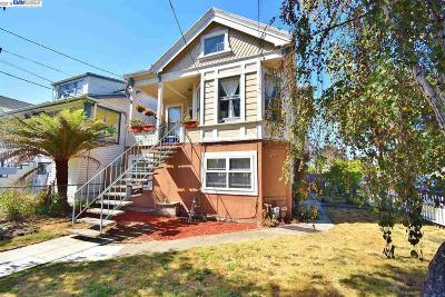Alameda Single Family Home For Sale: 1827 Bay Street