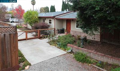 Concord Single Family Home For Sale: 5271 Olive Drive