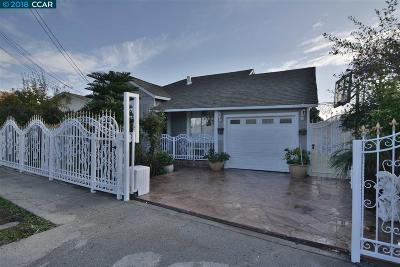 San Pablo Single Family Home For Sale: 1540 Sutter Ave