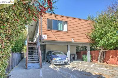 Berkeley Multi Family Home For Sale: 1615 Parker Street