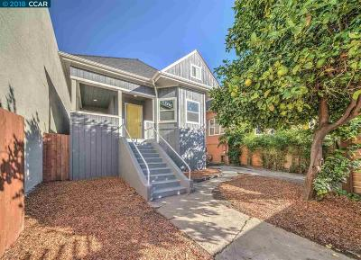 Oakland Single Family Home For Sale: 860 W Macarthur Blvd