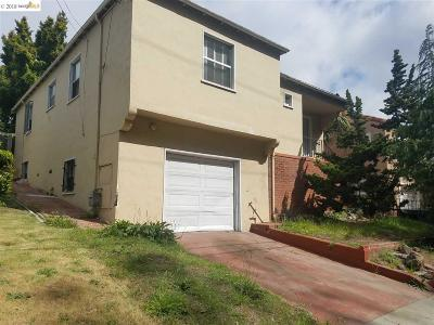 Oakland Single Family Home For Sale: 5475 Macarthur Boulevard