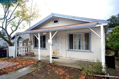 Martinez Single Family Home For Sale: 2221 Tacoma Ave