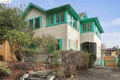 Oakland Single Family Home For Sale: 5126 Coronado Ave