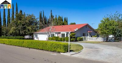 Tracy Single Family Home Pending Show For Backups: 7821 Stearman Rd