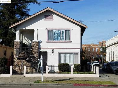 Oakland Multi Family Home For Sale: 1445 92nd Ave