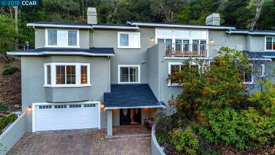Orinda Single Family Home For Sale: 429 El Toyonal