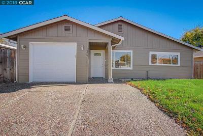 Concord Single Family Home For Sale: 3136 Hacienda Dr