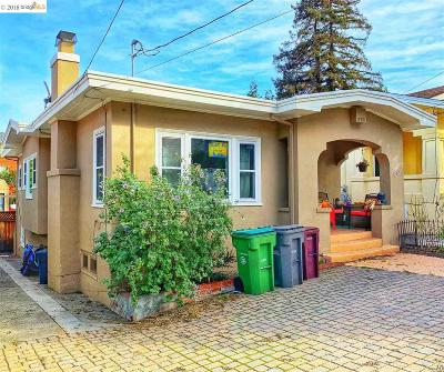 Oakland Single Family Home For Sale: 1252 E 34th St